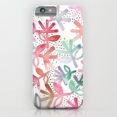 Watercolour floral Slim Case iPhone 6s