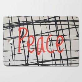 Best foot forward - Peace Cutting Board