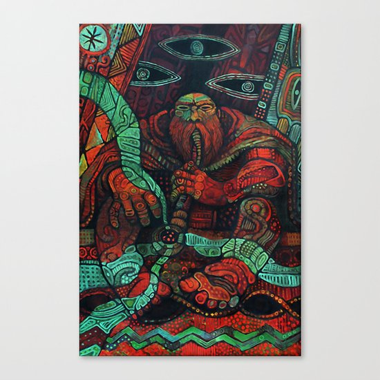 Peace Pipe Canvas Print