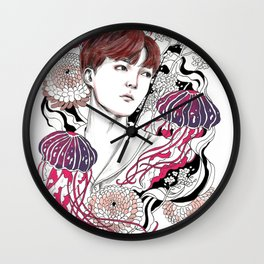 BTS J-HOPE Wall Clock