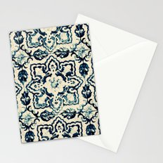 tile pattern - Portuguese azulejos Stationery Cards