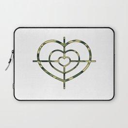 Heartscope Camo Laptop Sleeve