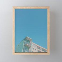 Summer in the City Framed Mini Art Print
