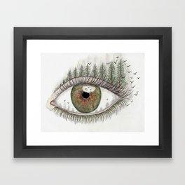 Tree Eye Framed Art Print