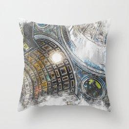 St Peter Basilica Throw Pillow
