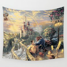 Beauty and the Beast - Tale As Old As Time Wall Tapestry