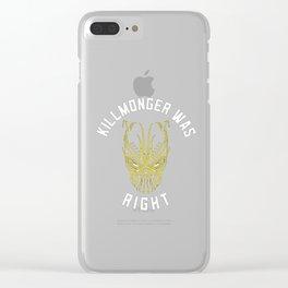 killmonger panter Clear iPhone Case
