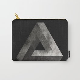 Penrose Triangle Moon Carry-All Pouch