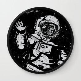 BOO !! Astronaut Skeleton Science Shirts Wall Clock