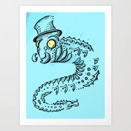 Sir Calipiter Art Print