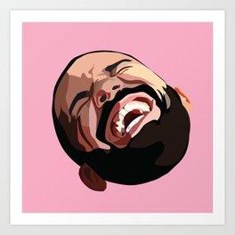Comedy Art Print