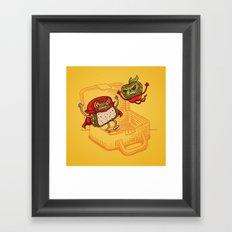 Lunchadores Framed Art Print
