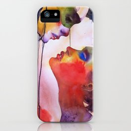 I love you, I hate you iPhone Case