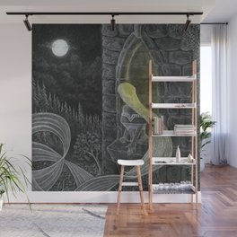 Rapunzel by Night Wall Mural