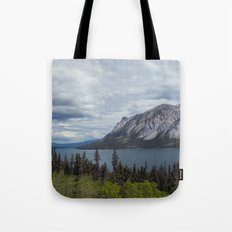 Tagish Lake Yukon Canada Tote Bag