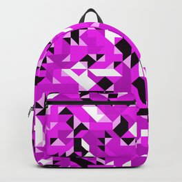 Off-Beat Geometric Shapes V.12 Backpack