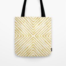 Gilded Bars Tote Bag