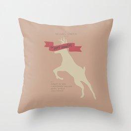 The Deer Hunter, Minimal movie poster, Michael Cimino film, alternative, Christopher Walken, De Niro Throw Pillow
