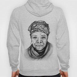 Maya Angelou - BW Original Sketch Hoody