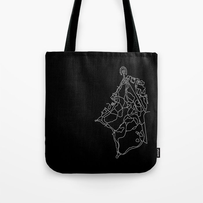 Walking Paths of Prospect Park Tote Bag
