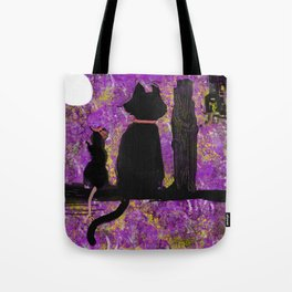 Cat with the Rat in the Hat Tote Bag