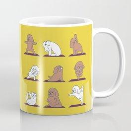 Poodle Yoga Coffee Mug