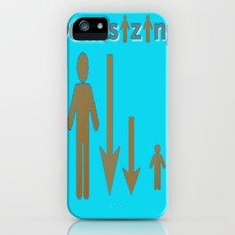 MiniSizing iPhone Case