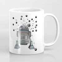r2d2 Mugs featuring R2D2 by Svenningsenmoller Design