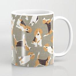 beagle scatter stone Coffee Mug