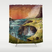 ireland Shower Curtains featuring Ireland by Taylor Rose