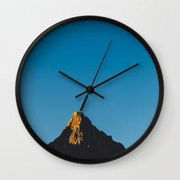 First light at Zion Wall Clock