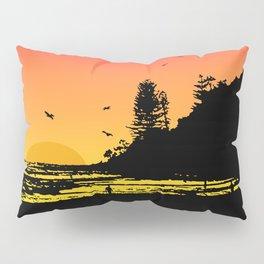 Burleigh beach Pillow Sham