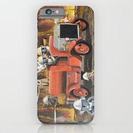 The Aussie Fire Truck iPhone Case