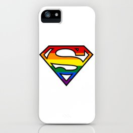 SuperGay rainbow! iPhone Case