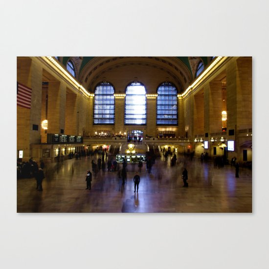 Grand Central Ghosts Canvas Print