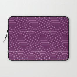 Byzantium - violet - Modern Vector Seamless Pattern Laptop Sleeve