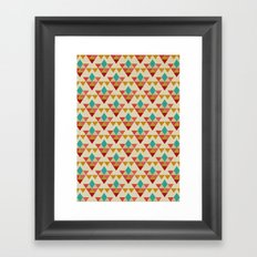 Retrospect, Triangle Nonet, No. 02 Framed Art Print