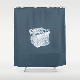 Stay Cool - dark Shower Curtain