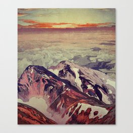 Victory the Climb Canvas Print