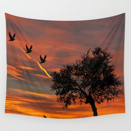 Nature's Sunrise Wall Tapestry