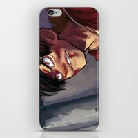 luffy iPhone & iPod Skins featuring Luffy  by DustyLeaves