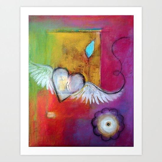 Soaring Heart Art Print