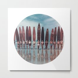 Surfer Boys Metal Print