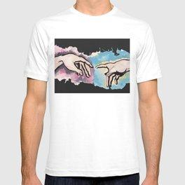 The Gospel - Hands of God and Adam T-shirt