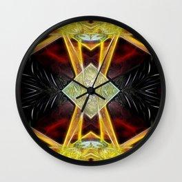 Tarot card  IX - The Hermit Wall Clock