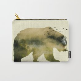 Unstoppable Bear Carry-All Pouch