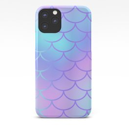 Turquoise & Purple Mermaid iPhone Case