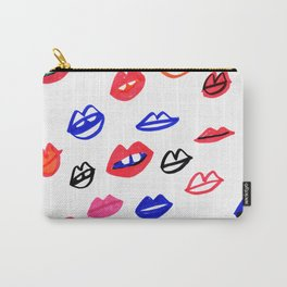 bright lips Carry-All Pouch