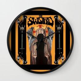 The Sword Wall Clock