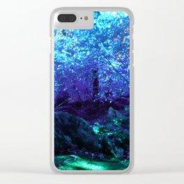 Fern Garden Clear iPhone Case